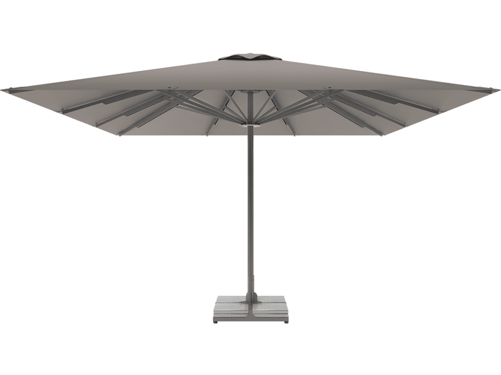 Telescopic Professional Umbrella Queen XL gris