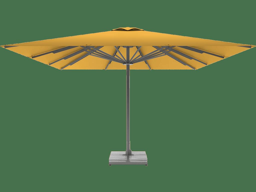 Επαγγελματικη Τηλεσκοπικη Ομπρελα Queen XL jaune