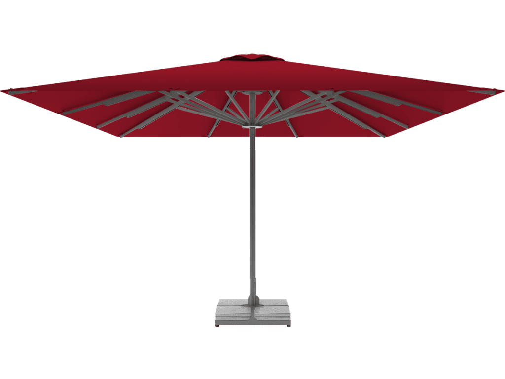 Professional Telescopic Umbrella Queen XL cerise