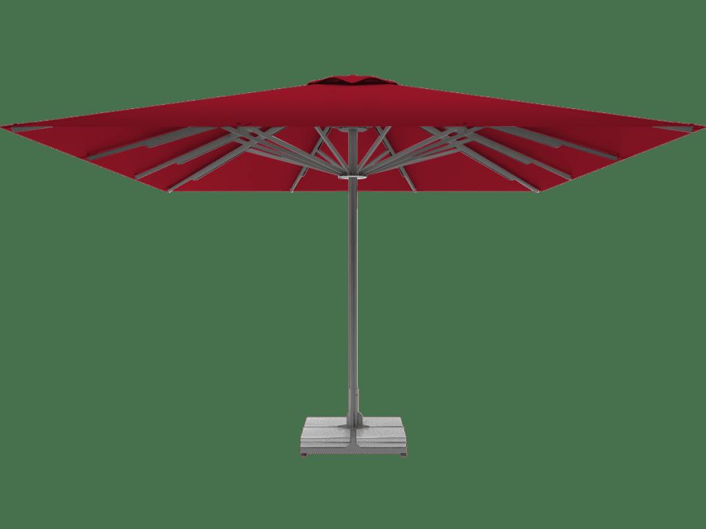 Professional Telescopic Umbrella Queen XL cerise