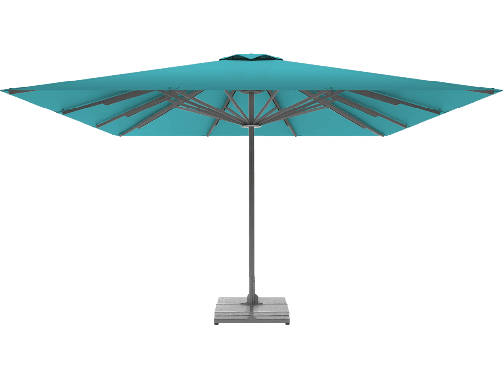 Telescopic Professional Umbrella Queen XL turquoise