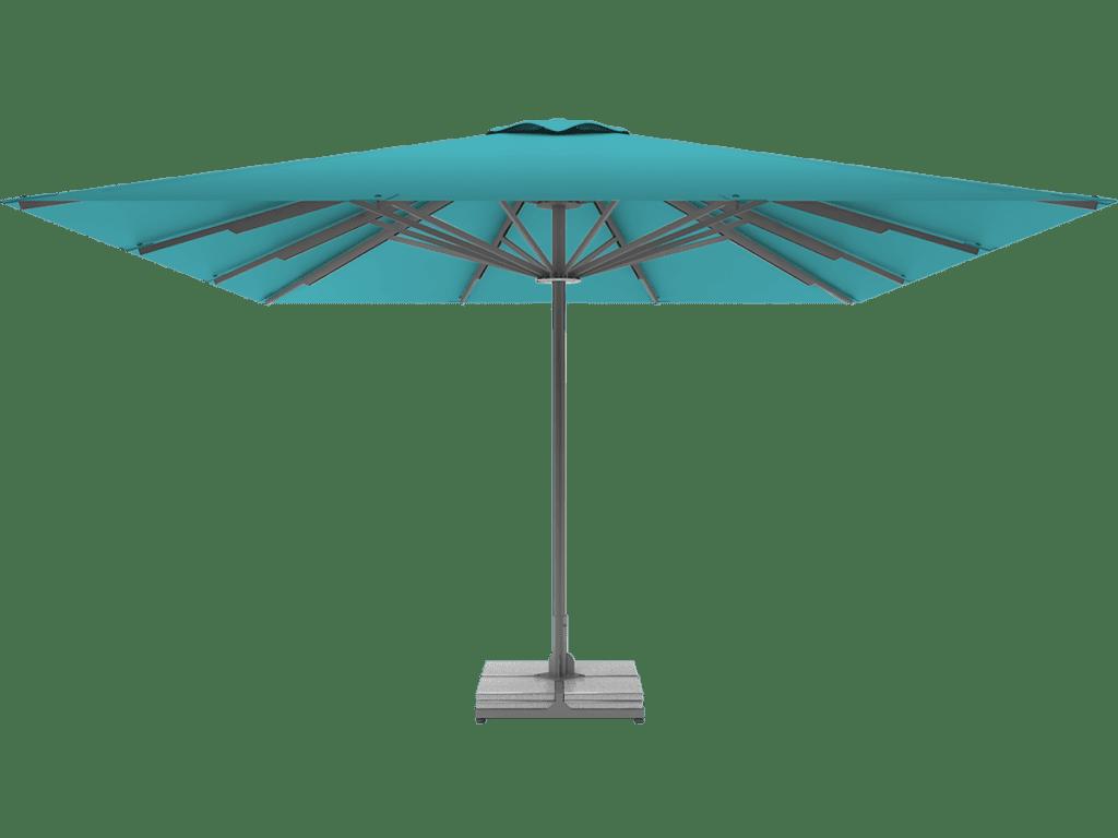 Telescopic Professional Umbrella Queen XL turquoise