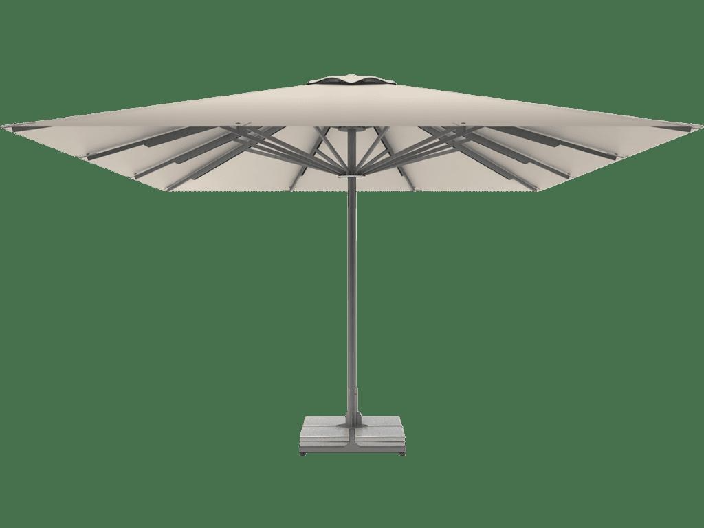 Professional Telescopic Umbrella Queen XL naturel