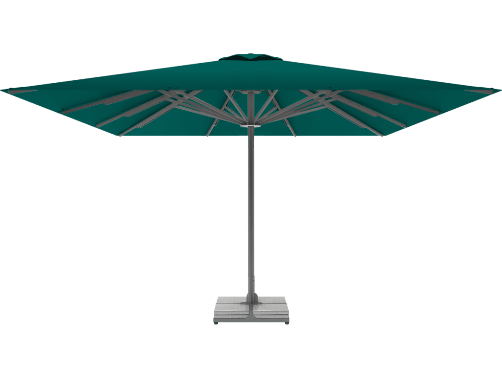 Professional Telescopic Umbrella Queen XL emeraude
