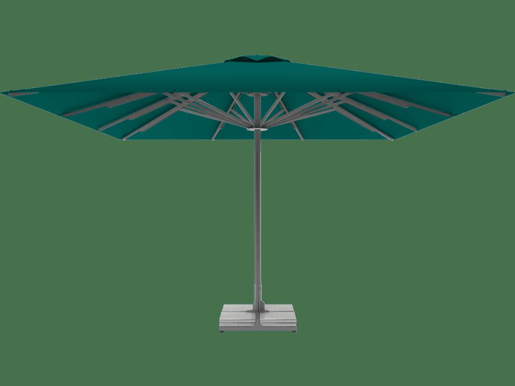 Professional Telescopic Umbrella Queen XL emeraude