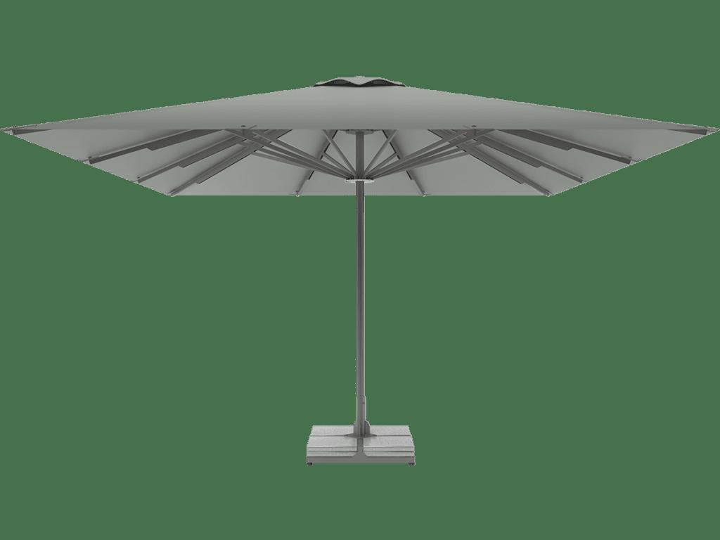 Telescopic Professional Umbrella Queen XL argent