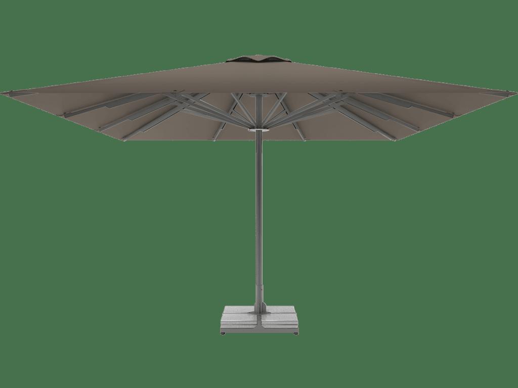 Professional Telescopic Umbrella Queen XL taupe