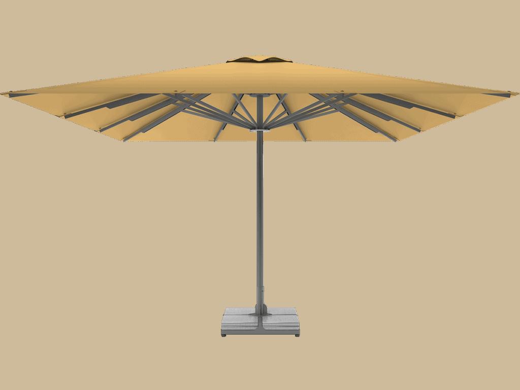 Telescopic Professional Umbrella Queen XL paille