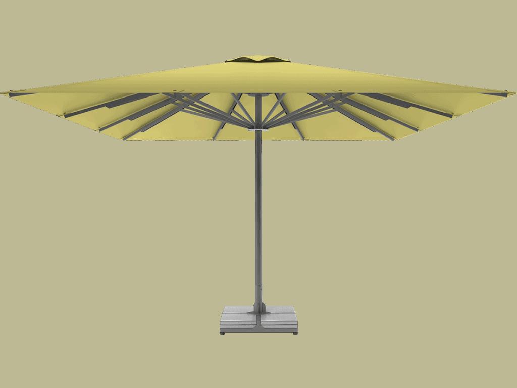 Telescopic Professional Umbrella Queen XL citron