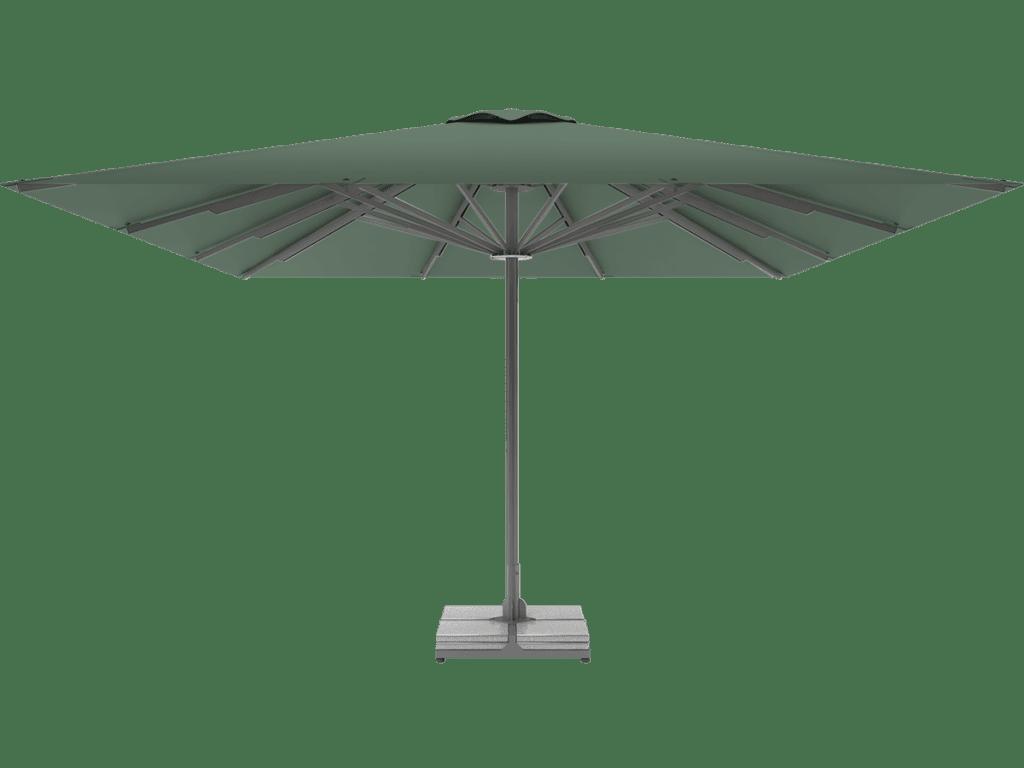 Professional Telescopic Umbrella Queen XL fougere