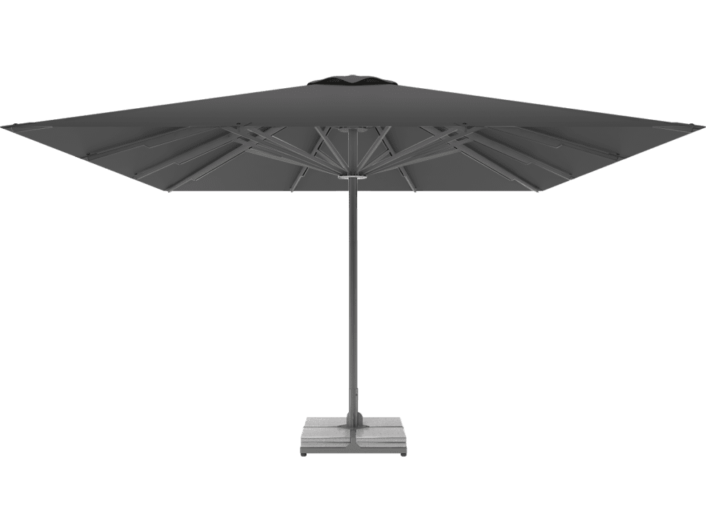 Telescopic Professional Umbrella Queen XL ardoise