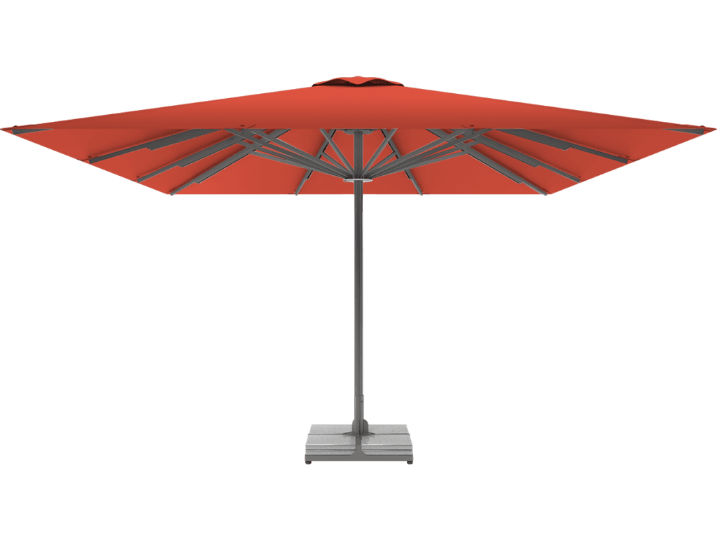 Professional Telescopic Umbrella Queen XL papaye