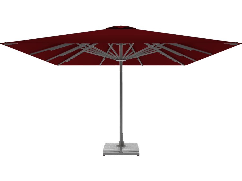 Professional Telescopic Umbrella Queen XL bordeaux