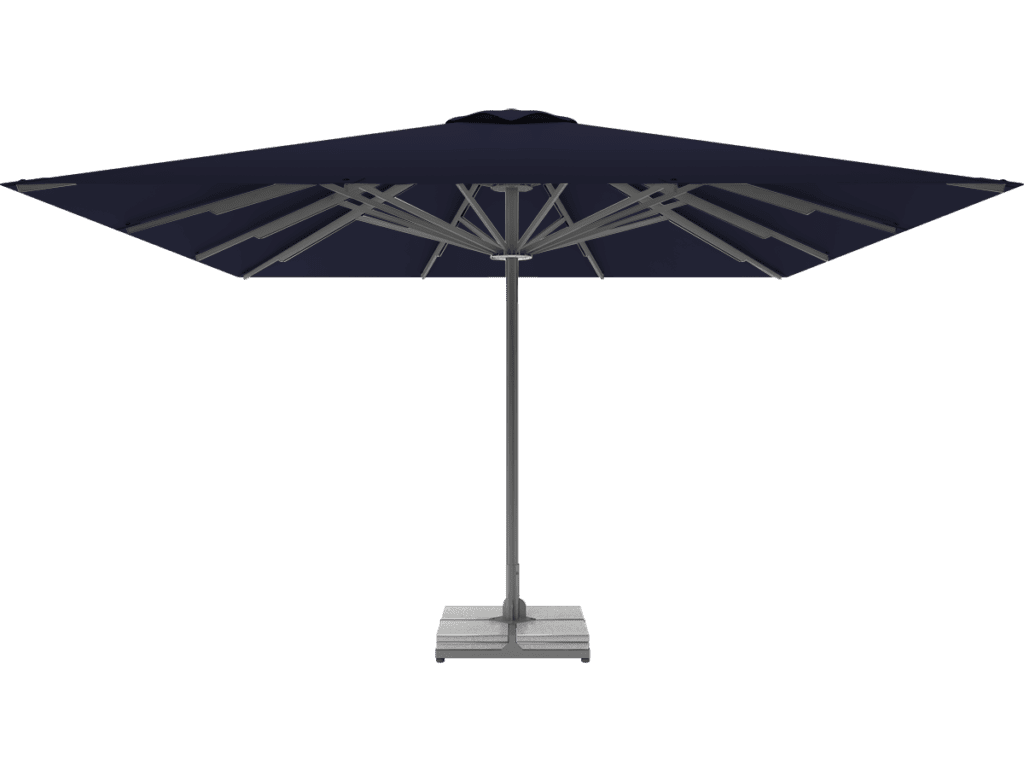 Telescopic Professional Umbrella Queen XL XL bleuet-nuit