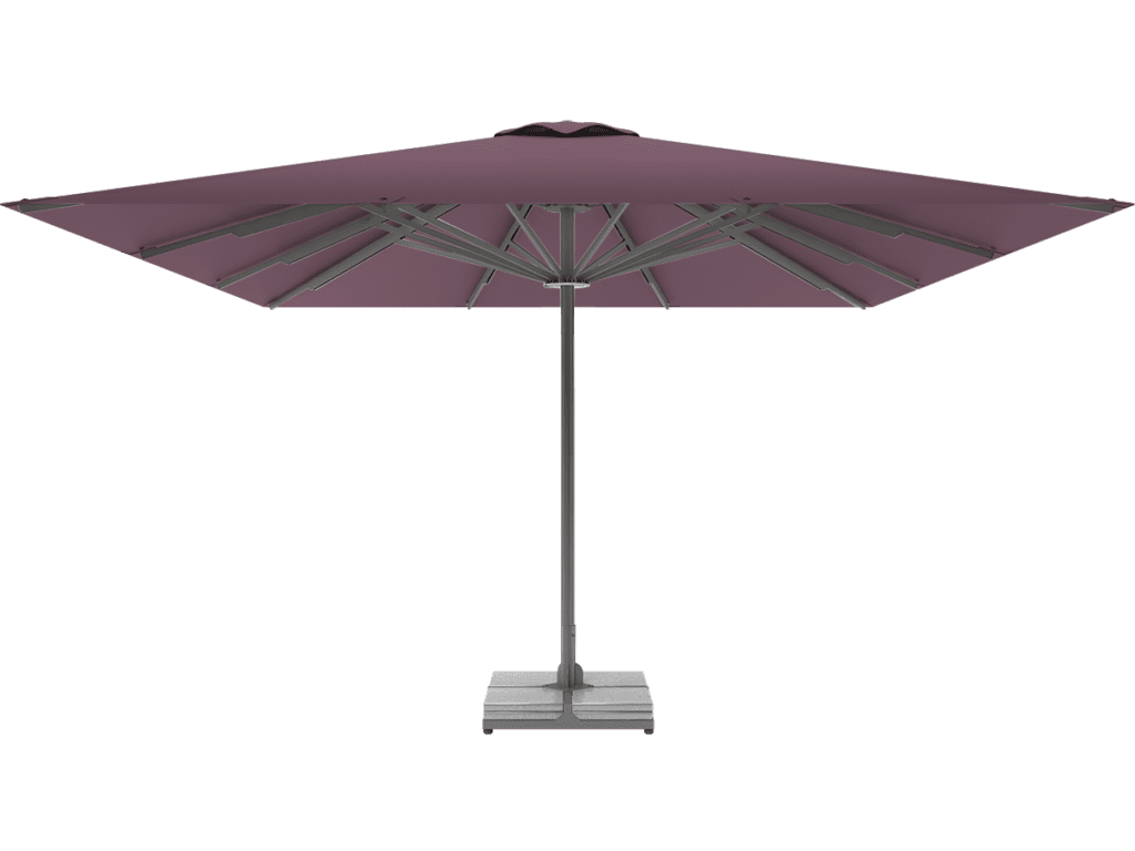 Professional Telescopic Umbrella Queen XL mauve