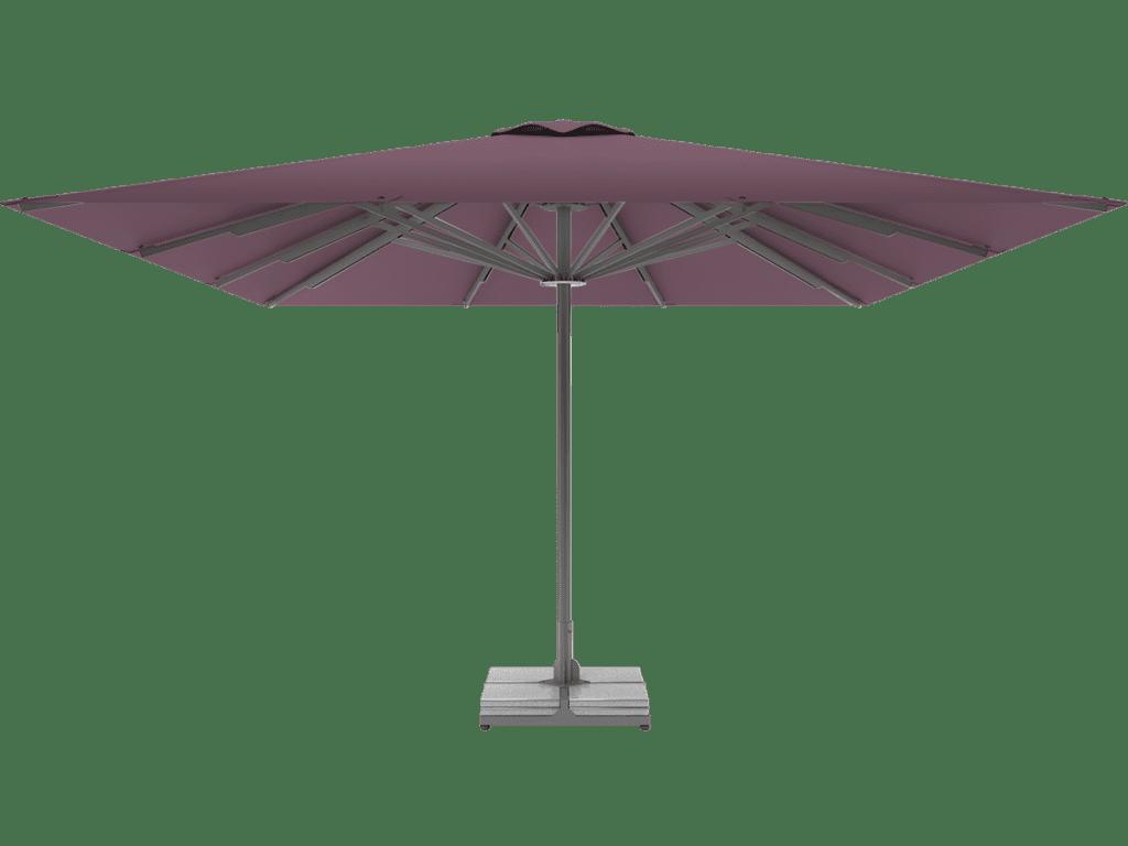Professional Telescopic Umbrella Queen XL mauve