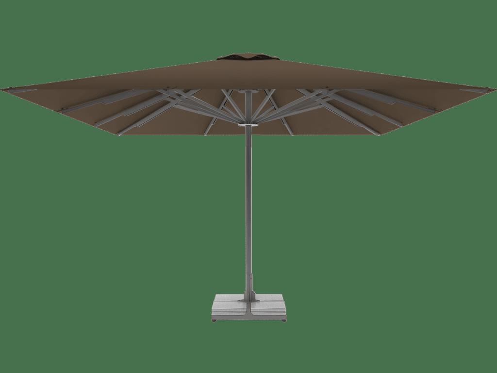 Professional Telescopic Umbrella Queen XL cacao