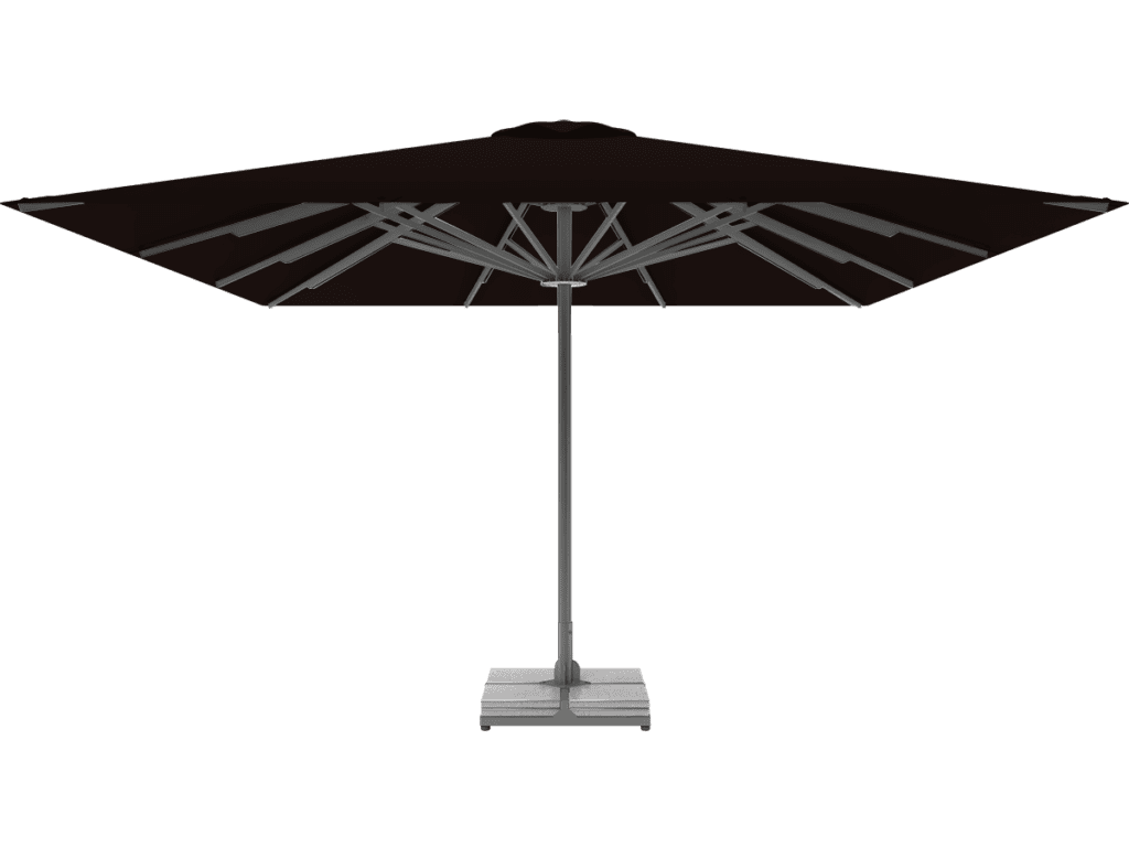 Professional Telescopic Umbrella Queen XL chocolat