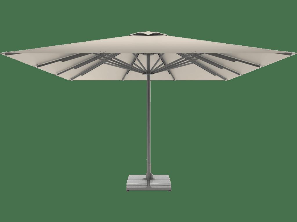 Telescopic Professional Umbrella Queen XL albatre-tweed