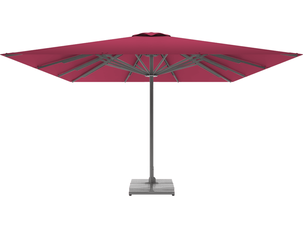 Professional Telescopic Umbrella Queen XL pink