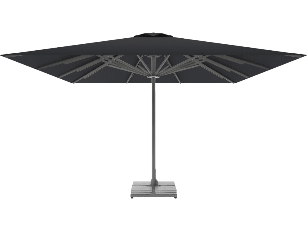 Telescopic Professional Umbrella Queen XL carbone