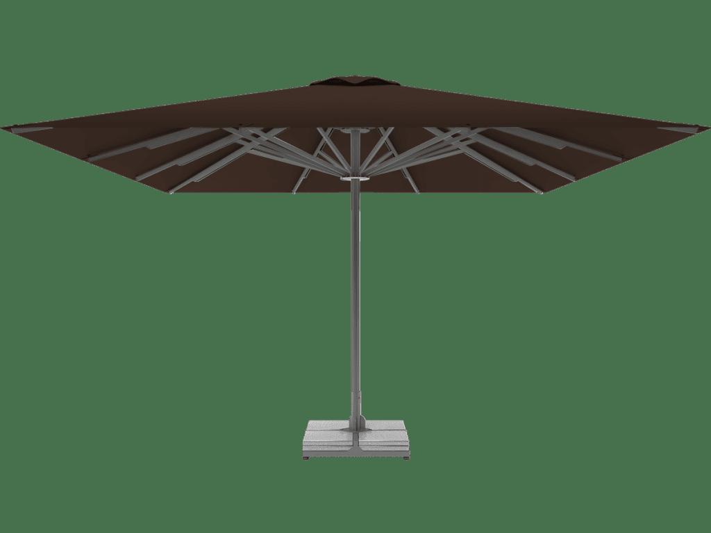 Professional Telescopic Umbrella Queen XL brownie