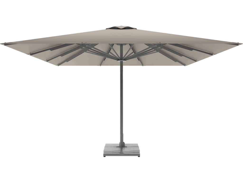Professional Telescopic Umbrella Queen XL argile