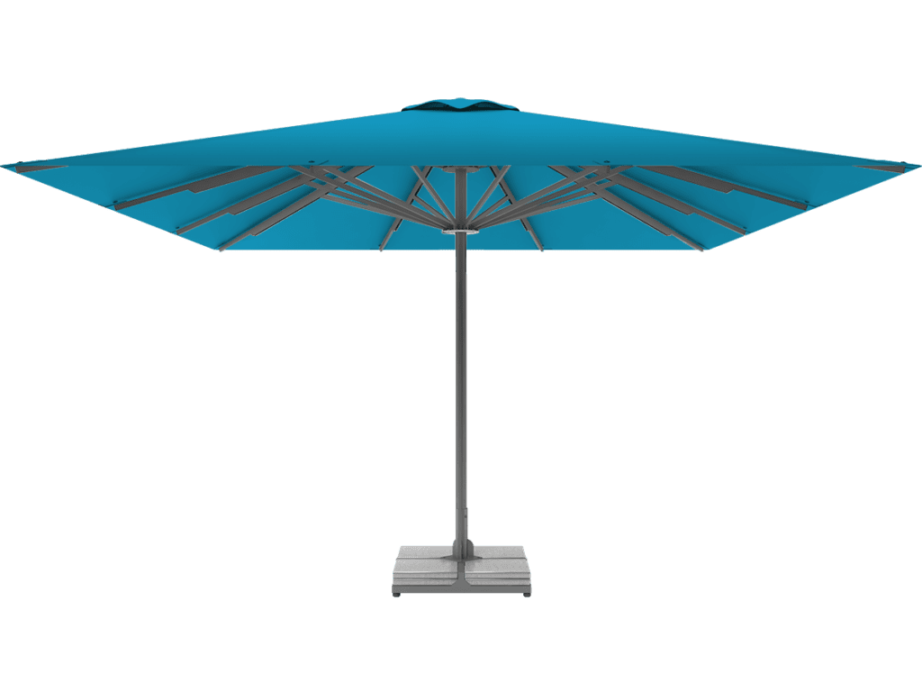 Telescopic Professional Umbrella Queen XL azur