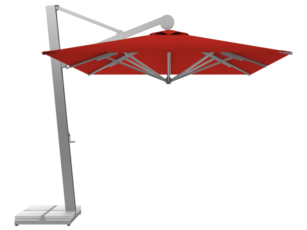 Hanging Professional Umbrella Rio Heavy - Type vermillion