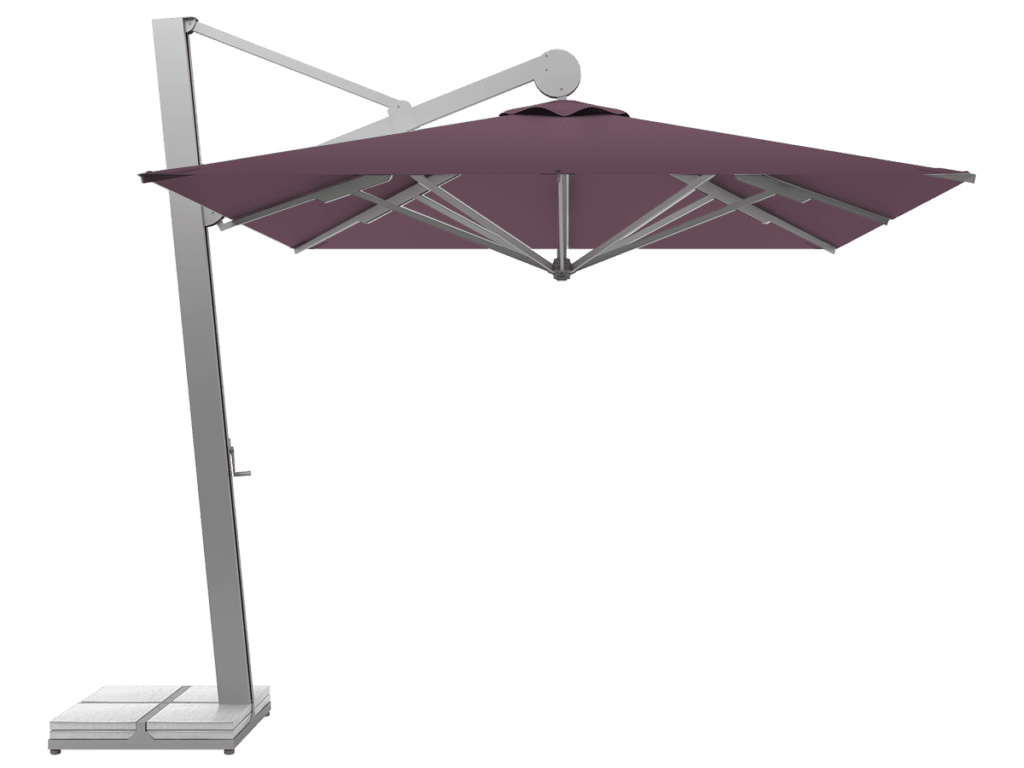 Hanging Professional Umbrella Rio Heavy - Type mauve