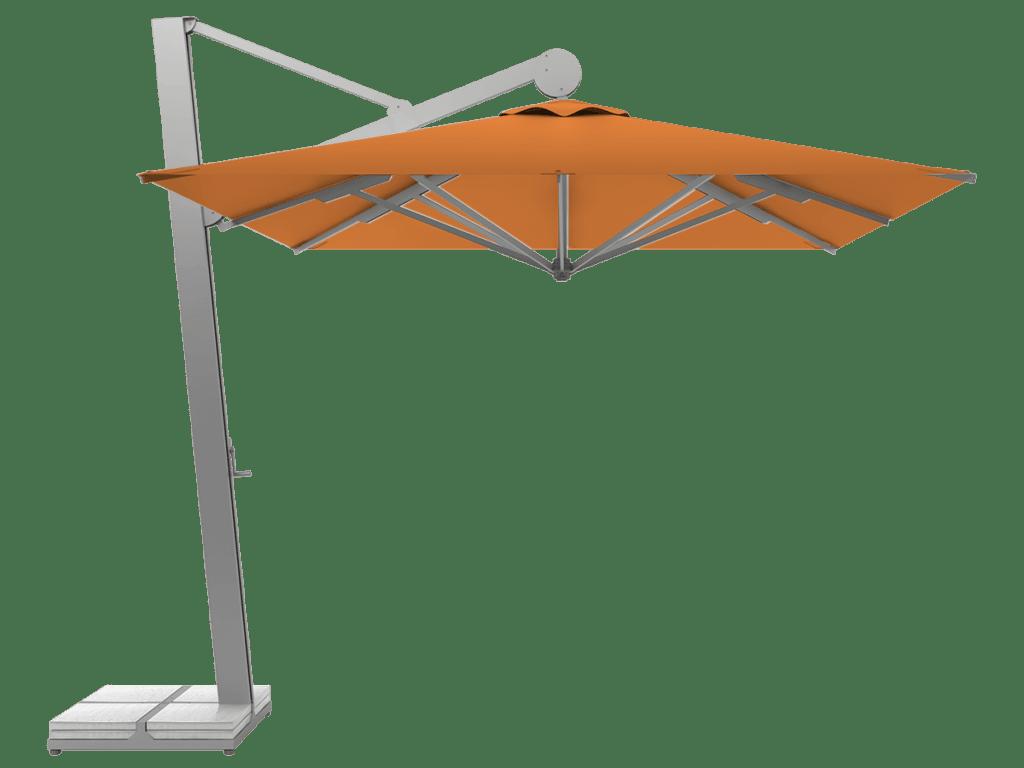 Κρεμαστη Επαγγελματικη Ομπρελα Rio Βαρεως-Τυπου mandarine