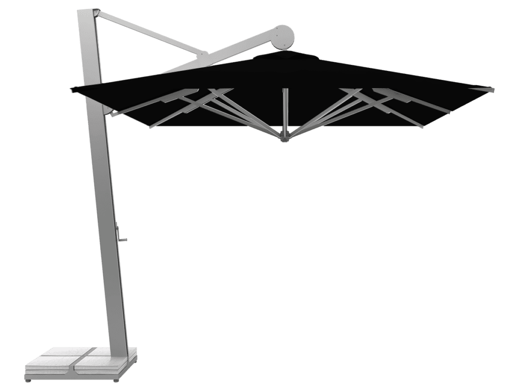 Κρεμαστή Επαγγελματική Ομπρέλα Rio Βαρέως-Τύπου noir