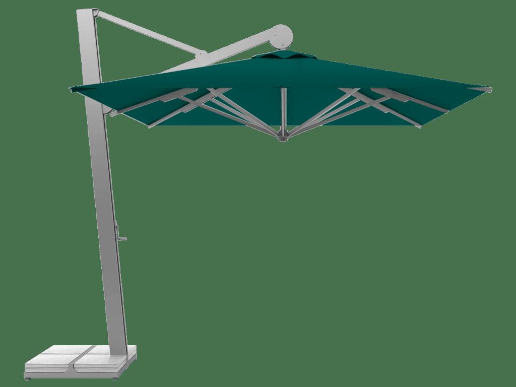 Hanging Professional Umbrella Rio Heavy - Type emeraude