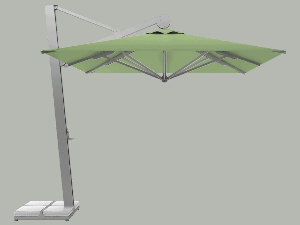 Hanging Professional Umbrella Rio Heavy - Type menthe