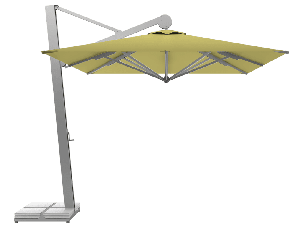 Hanging Professional Umbrella Rio Heavy - Type citron