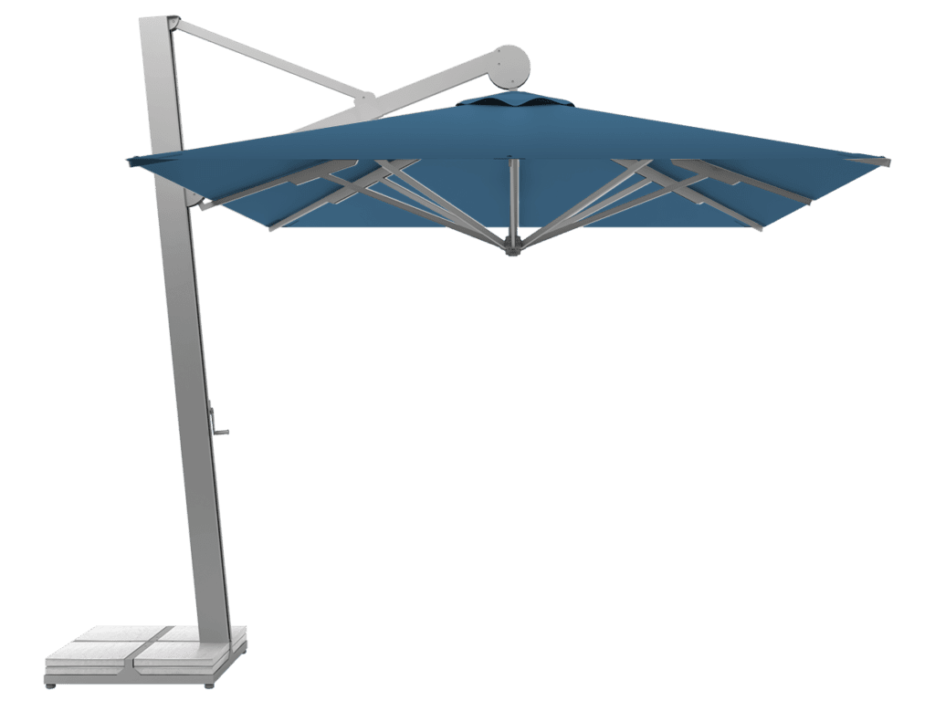 Hanging Professional Umbrella Rio Heavy - Type bleuet