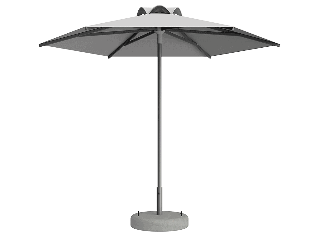Ομπρέλα Τύπου Παραλίας Sole Ενισχυμένη Ελαφρού Τύπου Χωρίς Βολάν - Sunblock