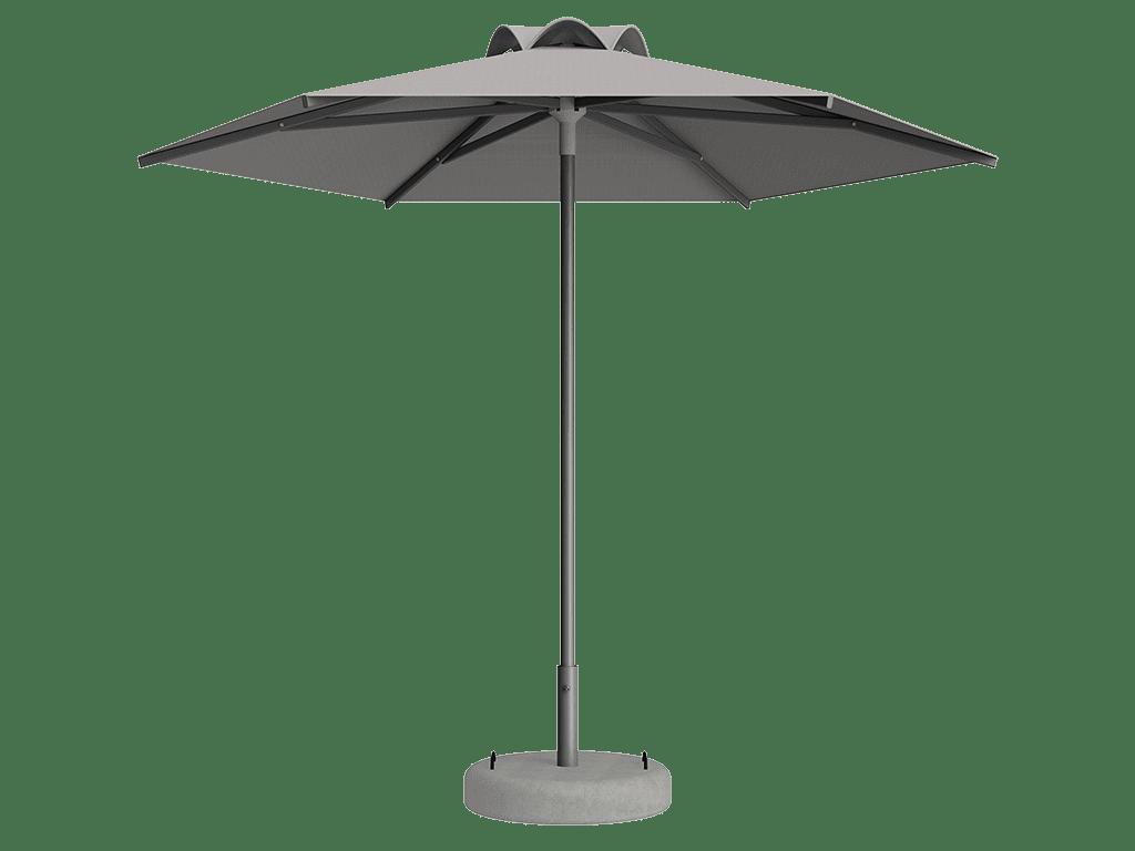 Ομπρέλα Τύπου Παραλίας Sole Ενισχυμένη Ελαφρού Τύπου Ecru
