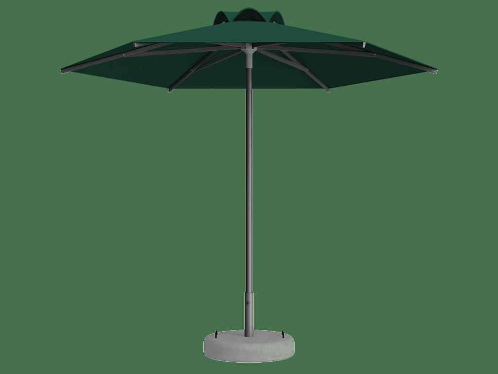 Ομπρέλα Τύπου Παραλίας Sole Ενισχυμένη Ελαφρού Τύπου Vert