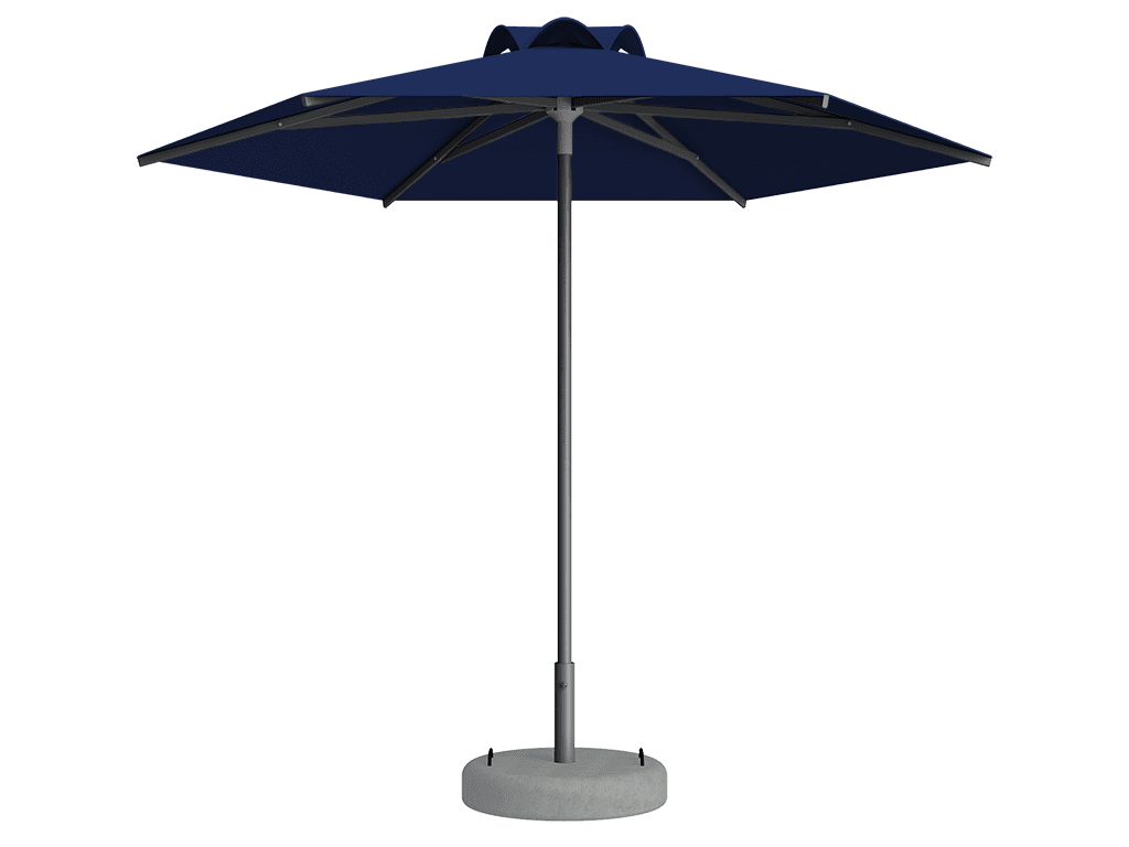 Ομπρέλα Τύπου Παραλίας Sole Ενισχυμένη Ελαφρού Τύπου Blue