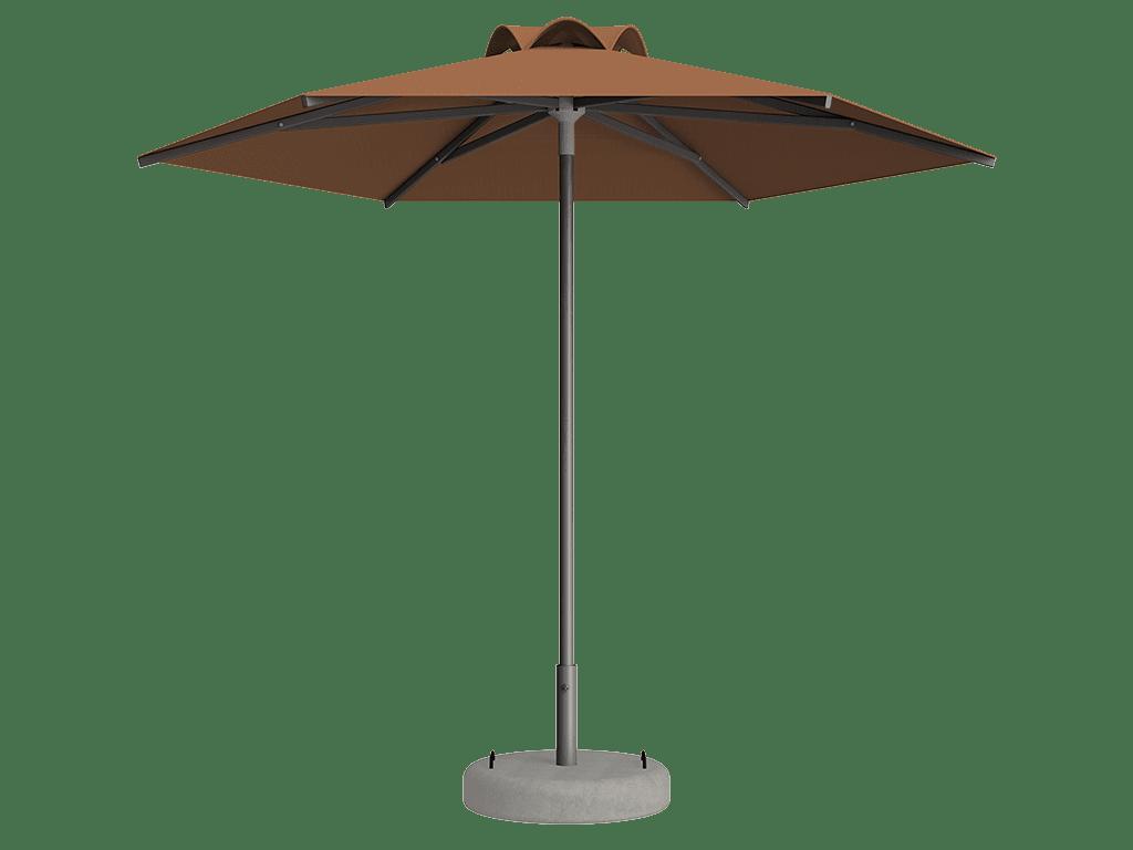 Ομπρέλα Τύπου Παραλίας Sole Ενισχυμένη Ελαφρού Τύπου Sable