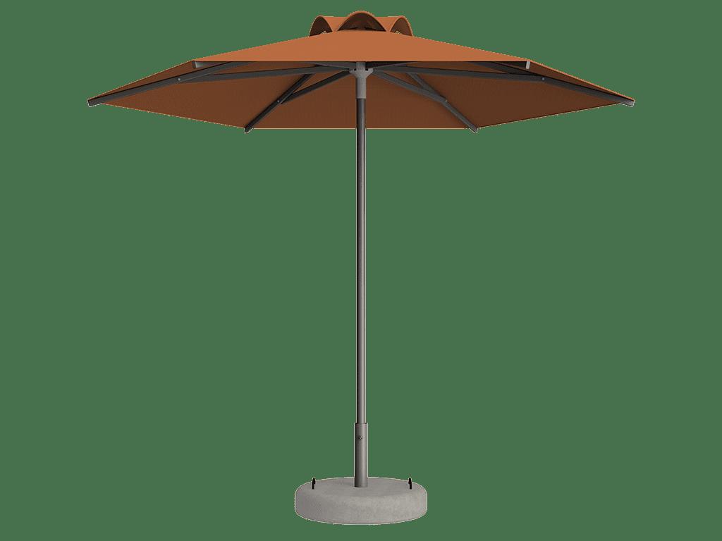 Ομπρέλα Τύπου Παραλίας Sole Ενισχυμένη Ελαφρού Τύπου Mandarine