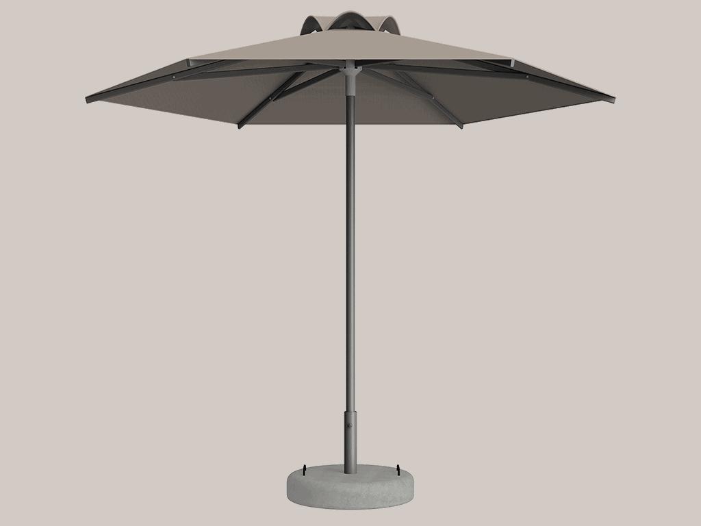 Ομπρέλα Τύπου Παραλίας Sole Ενισχυμένη Ελαφρού Τύπου Grege