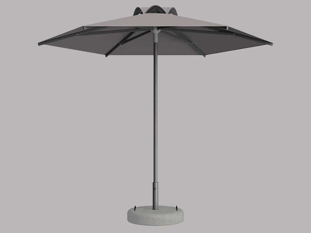 Ομπρέλα Τύπου Παραλίας Sole Ενισχυμένη Ελαφρού Τύπου Pierre