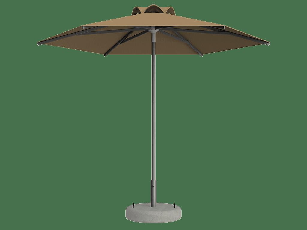 Ομπρέλα Τύπου Παραλίας Sole Ενισχυμένη Ελαφρού Τύπου Ble