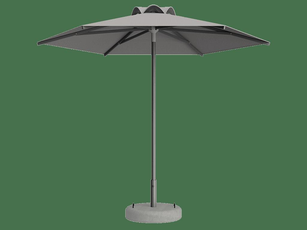 Ομπρέλα Τύπου Παραλίας Sole Ενισχυμένη Ελαφρού Τύπου Multico