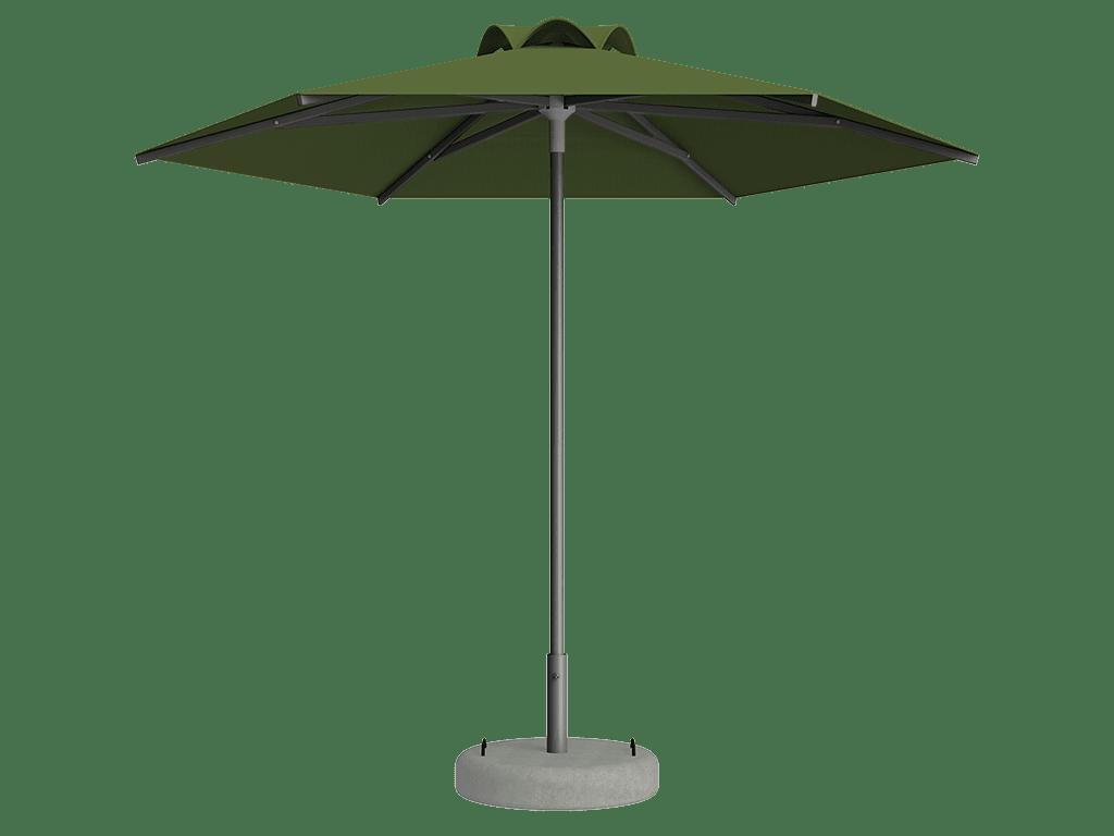 Ομπρέλα Τύπου Παραλίας Sole Ενισχυμένη Ελαφρού Τύπου Amande