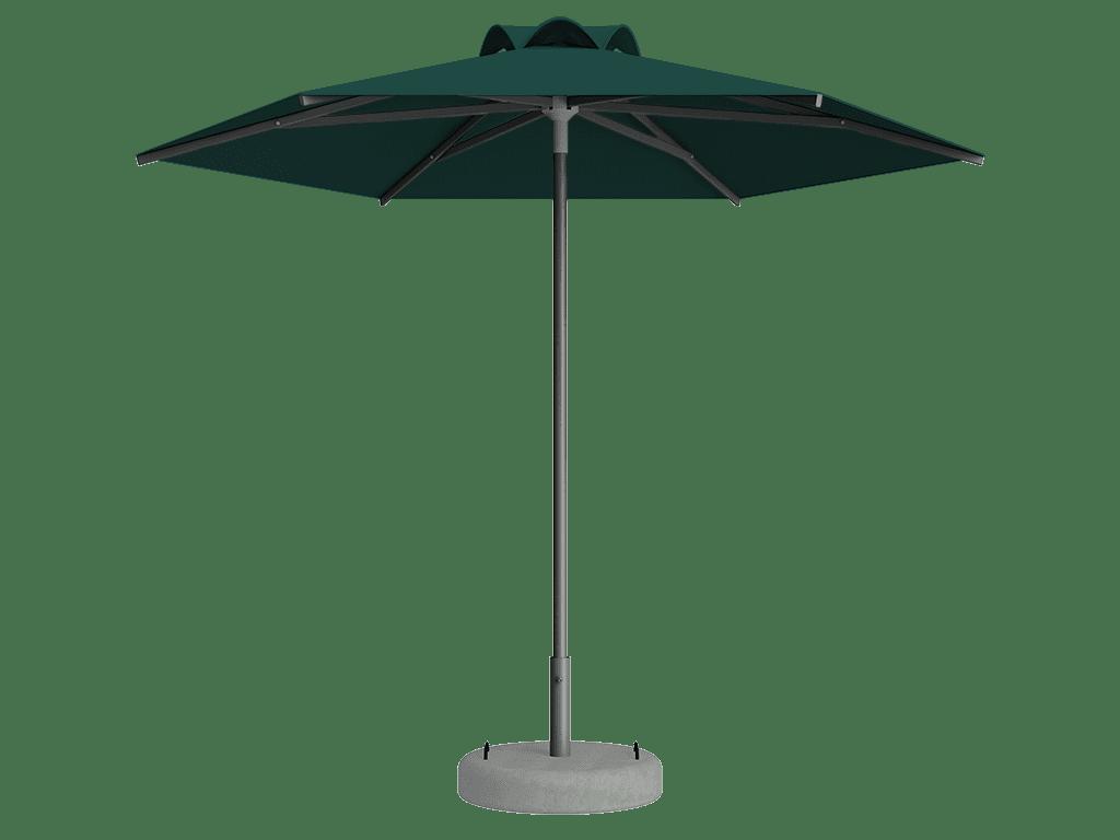 Ομπρέλα Τύπου Παραλίας Sole Ενισχυμένη Ελαφρού Τύπου Emeraude