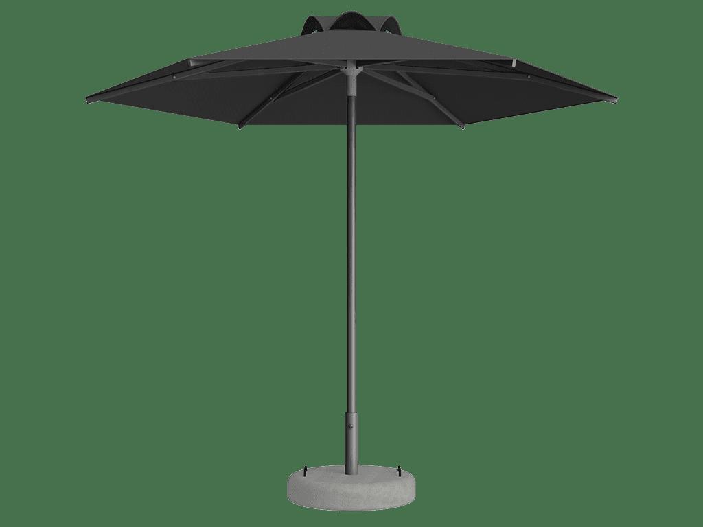 Ομπρέλα Τύπου Παραλίας Sole Ενισχυμένη Ελαφρού Τύπου Ardoise