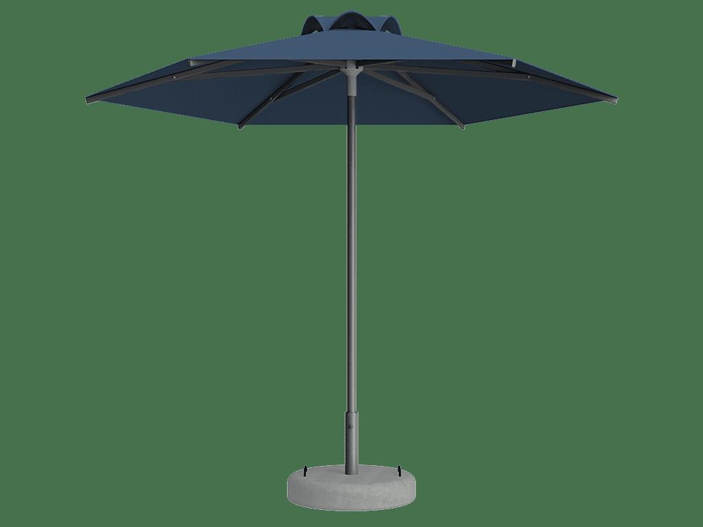Ομπρέλα Τύπου Παραλίας Sole Ενισχυμένη Ελαφρού Τύπου Bleuet